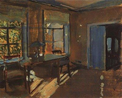 Интерьер на даче Павловых. 1899 г.