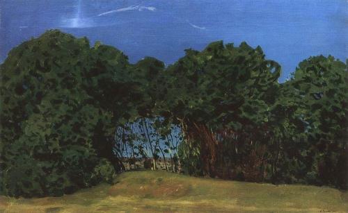 Летний пейзаж. 1900 г.