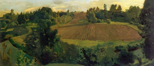 Пашня. 1900