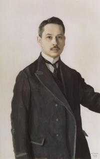 Константин Сомов. Автопортрет. 1909 г.