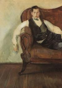 Константин Сомов. Автопортрет. 1898 г.